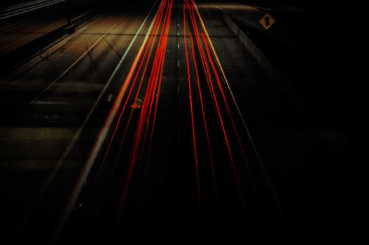 Night Photography of Car Traffic