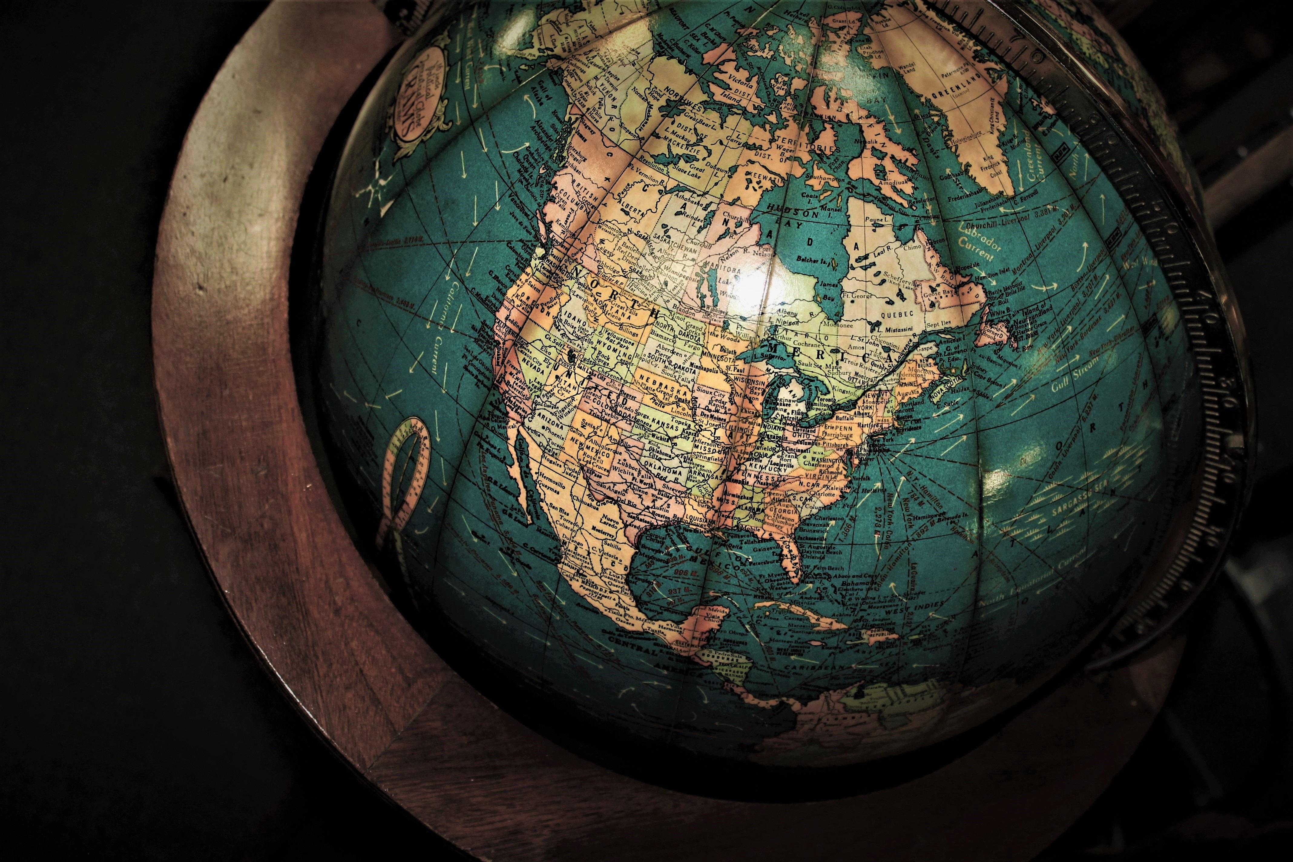 Free stock photo of antique, antique globe, antique shop