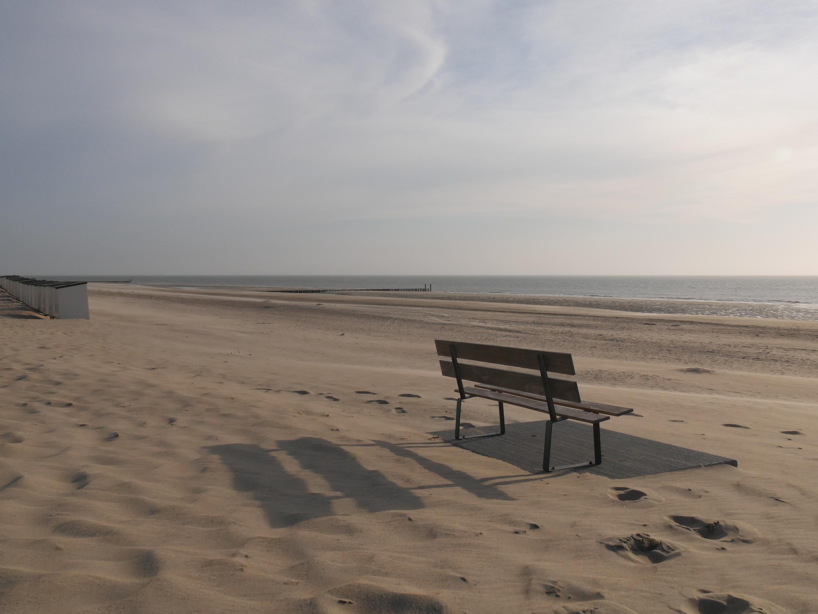 Free Stock Photo Of Beach Bench Dunes