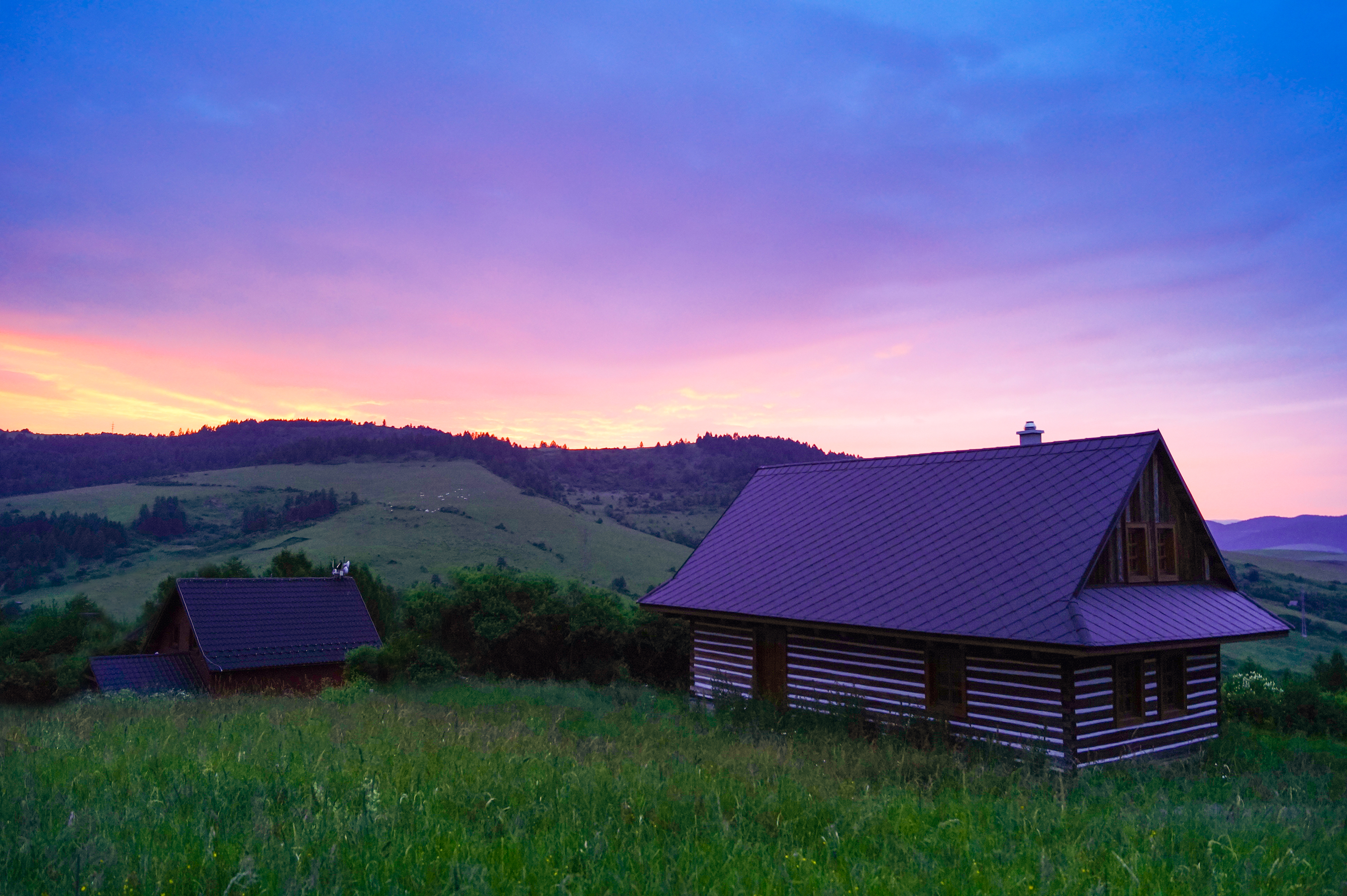 Free Stock Photo Of Cabin Cottage Countryside