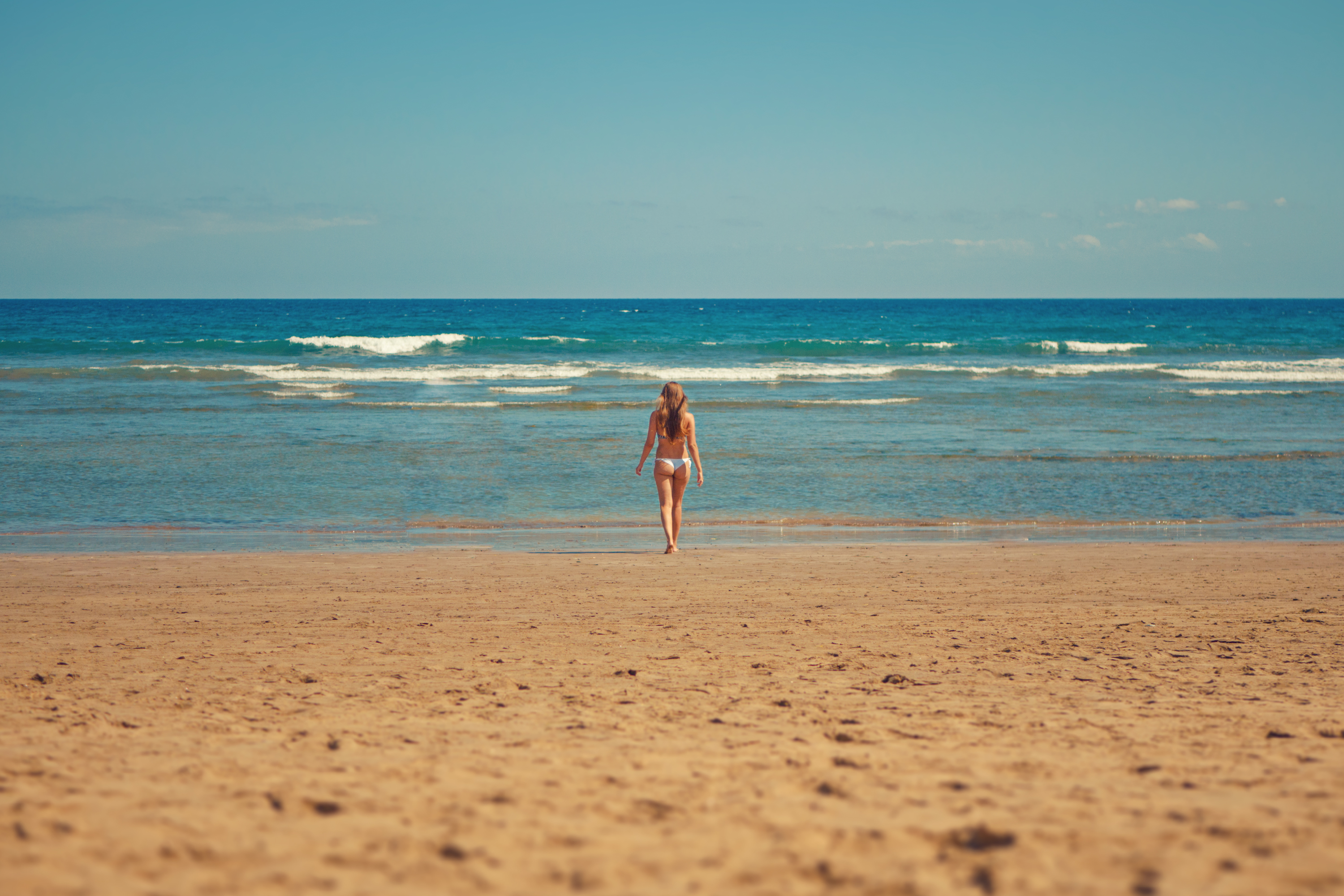 Free stock photo of beach, bikini, blue