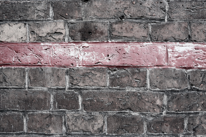 Red Bricks Texture Wall