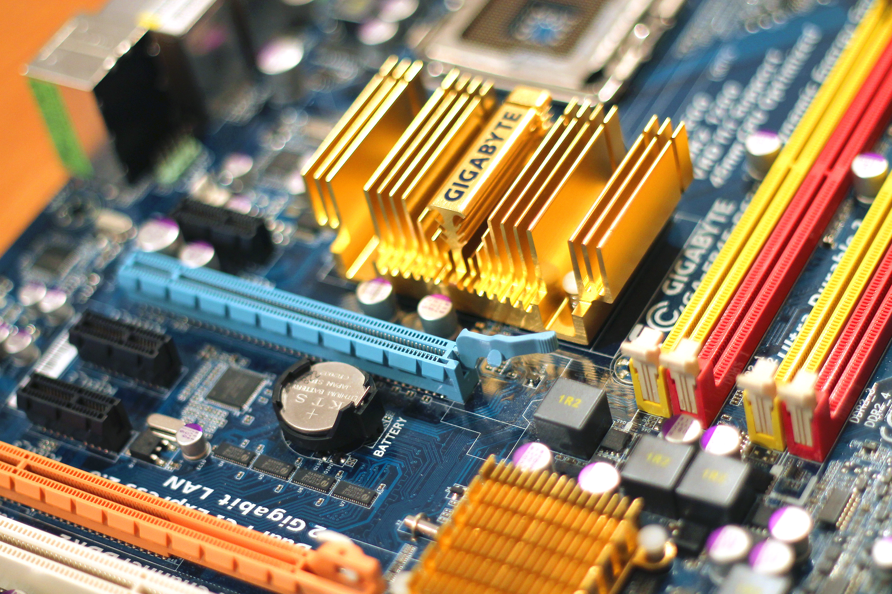 Technology Management Image: Personal Computer Motherboard · Free Stock Photo
