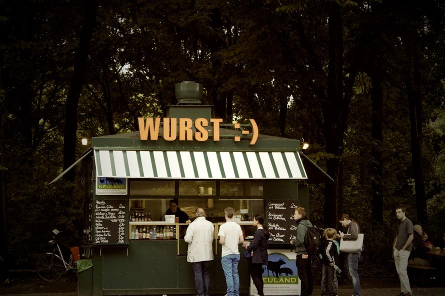 lunch, germany, kiosk