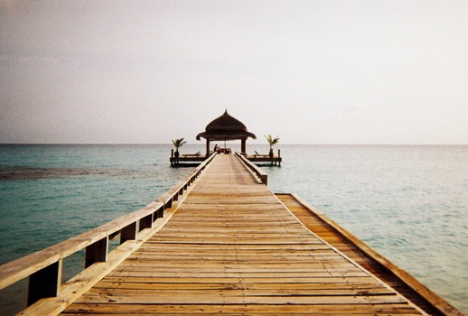 Free stock photo of jetty, landing stage, sea, holiday