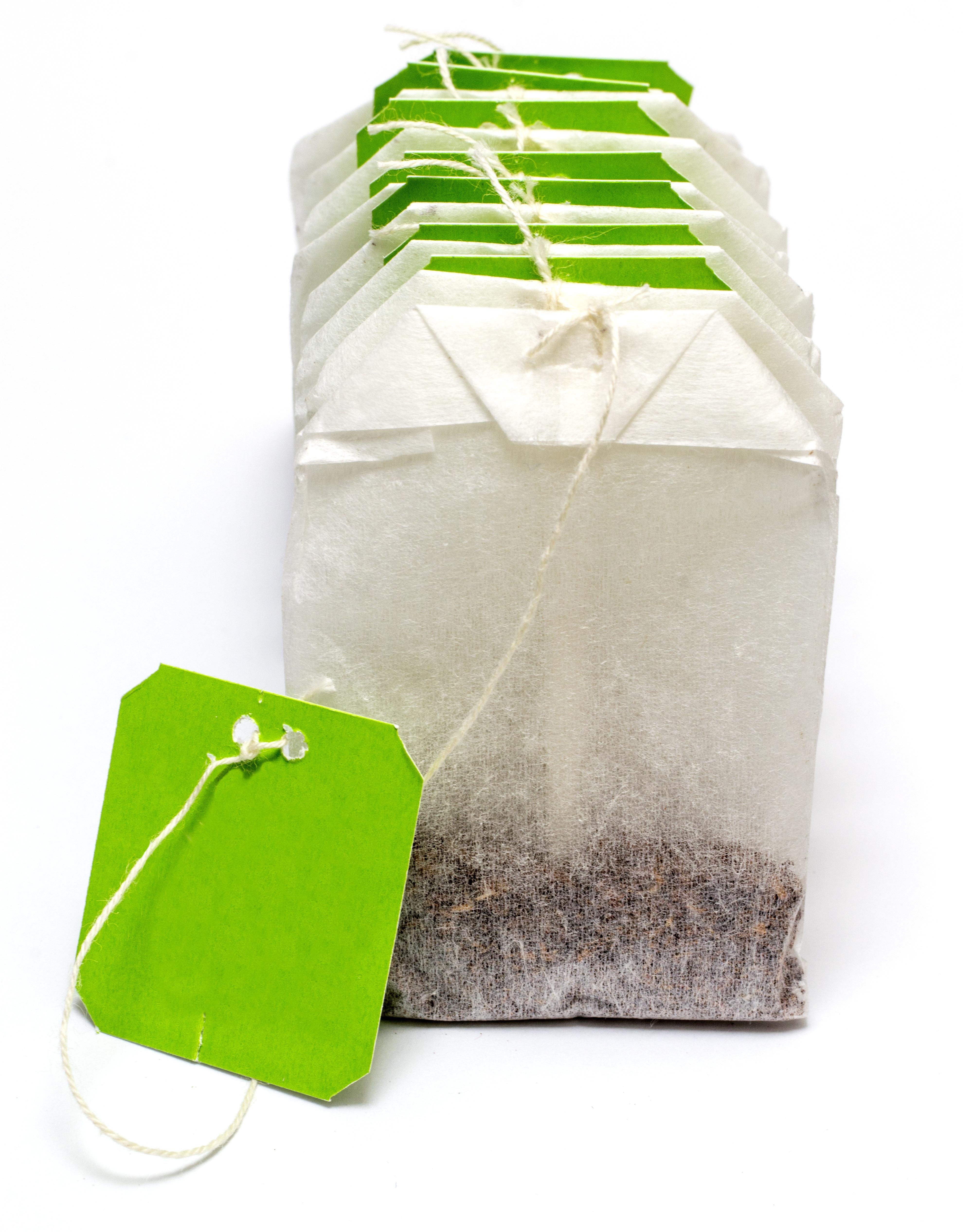 White Tea Bag · Free Stock Photo