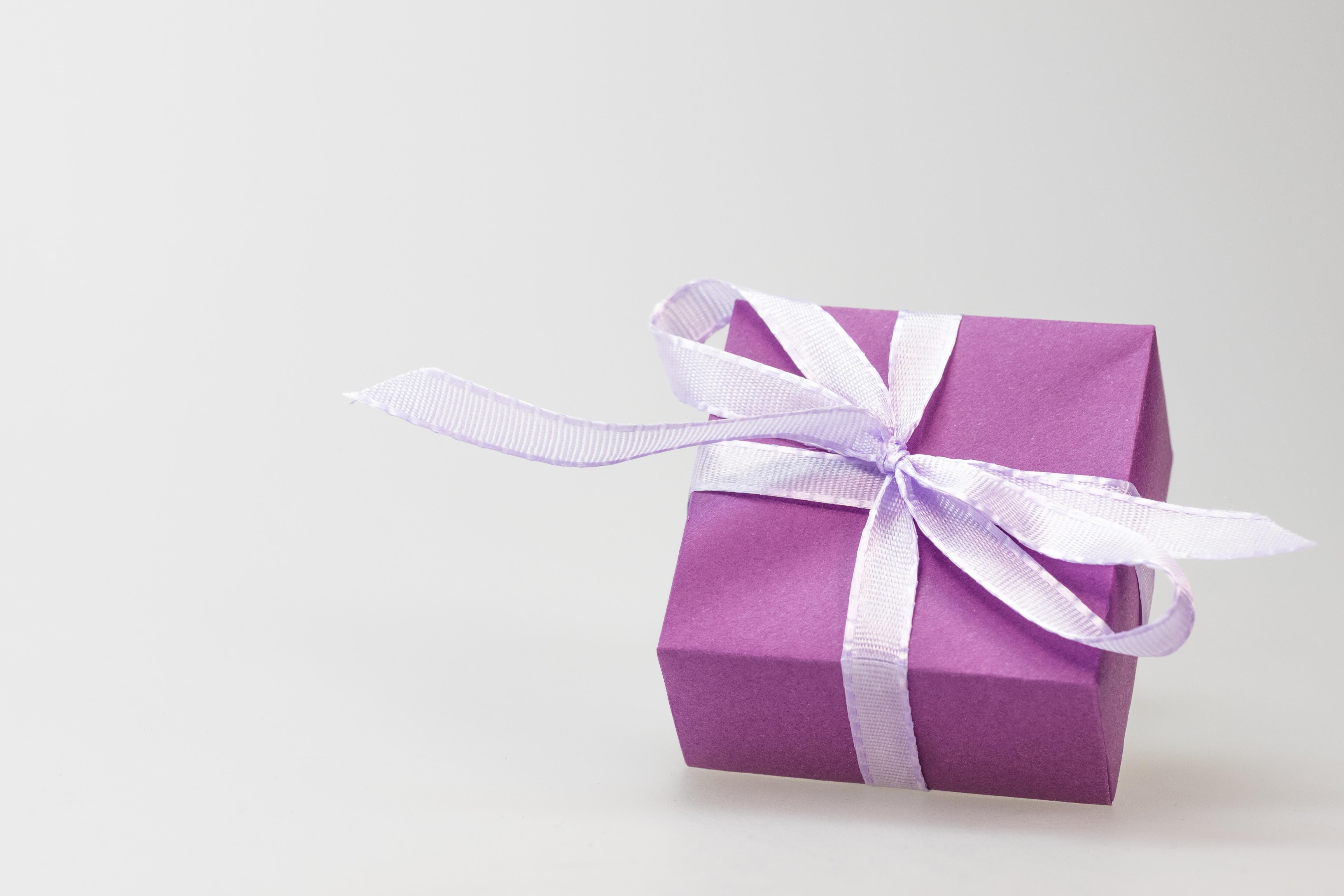 Free stock photos of present pexels free stock photo of purple gift present box negle Choice Image