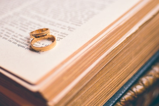 Free stock photo of couple, love, rings, religion