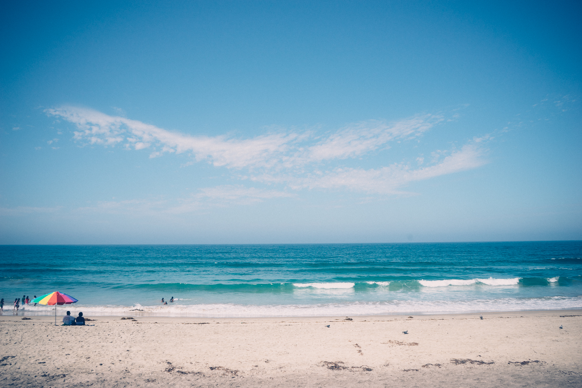 free stock photo of beach sea vacation