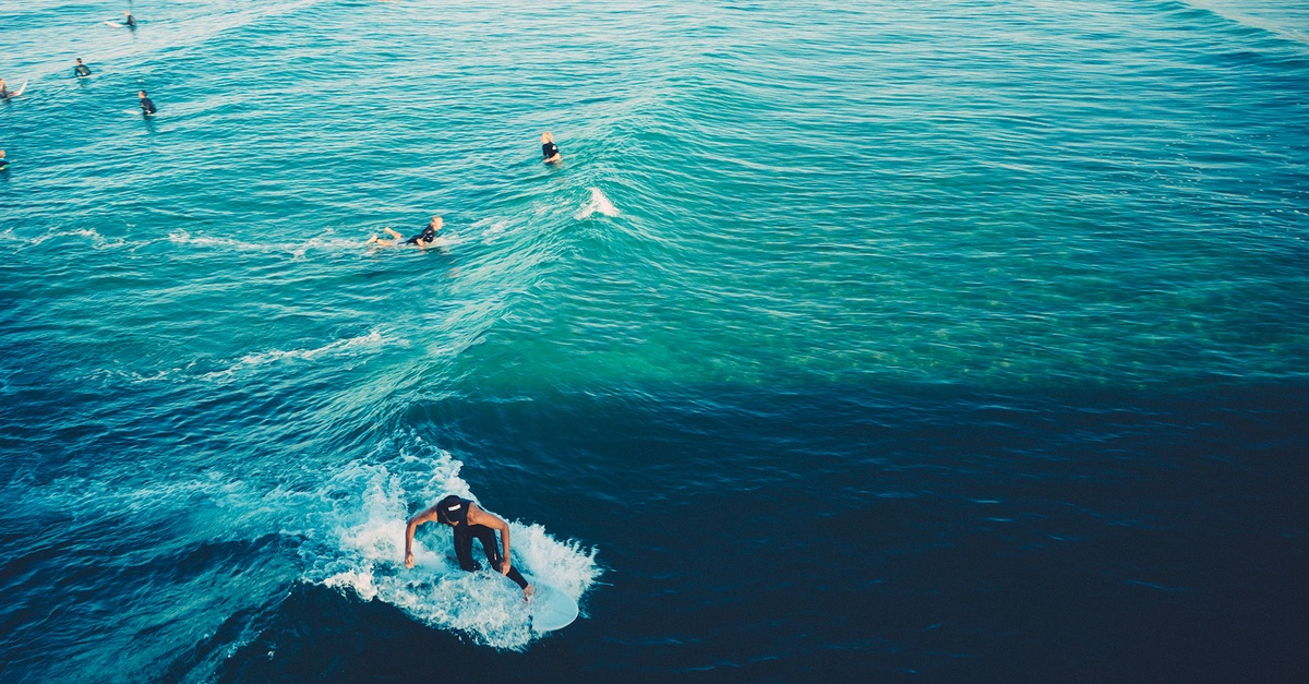 Free stock photo of surfers, surfing, waves