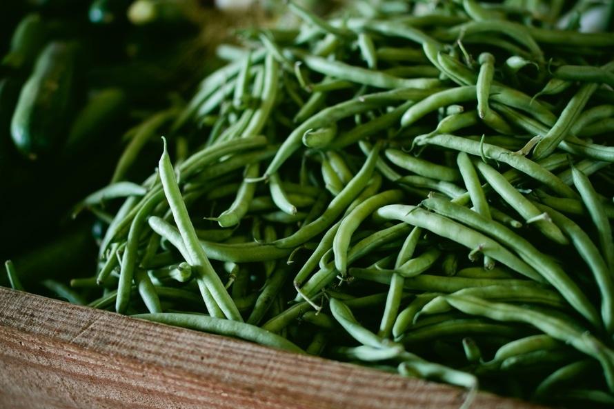 food, vegetables, beans