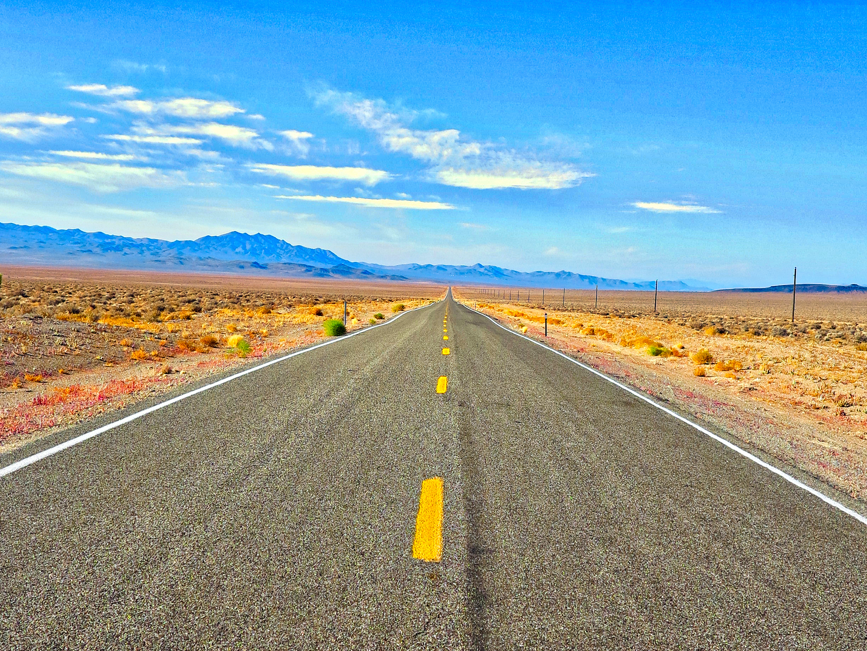 desktop background of road landscape nature sky