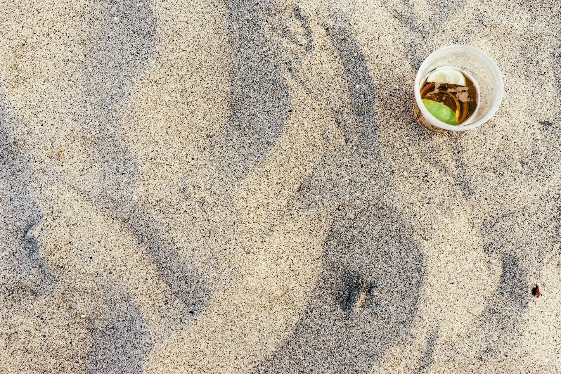 Hosting that many images is not cheap and we are constantly improving ...: https://www.pexels.com/photo/beach-sand-drink-5006