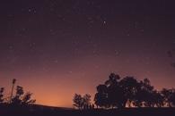 sky, sunset, night