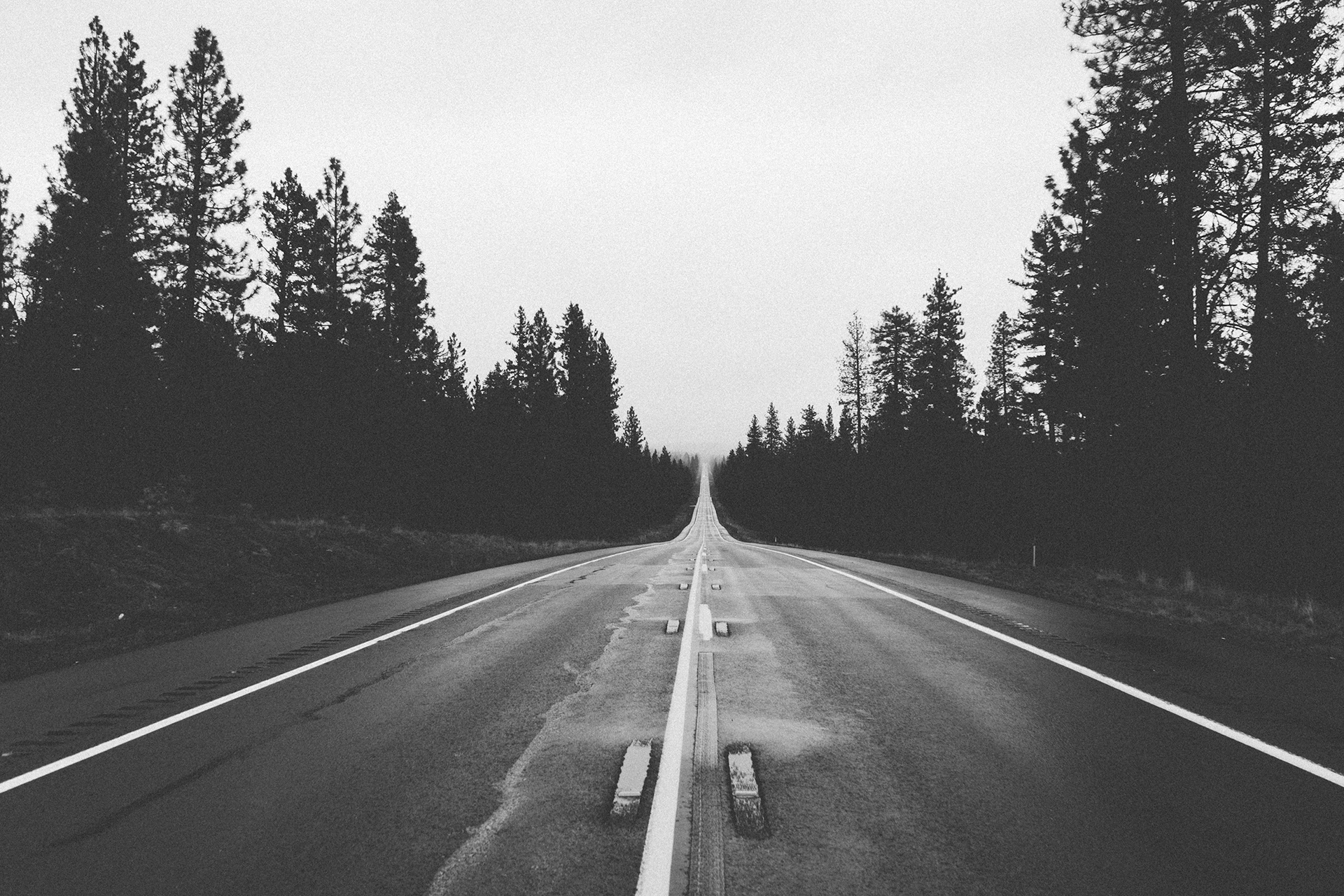 Free Stock Photo Of Endless, Long, Road