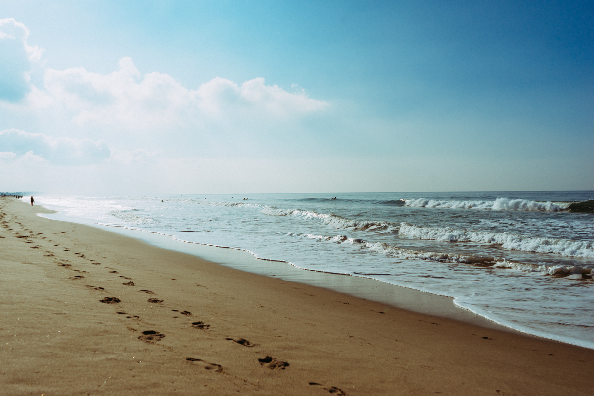 Free Stock Photo Of Sea Beach Footprint Steps