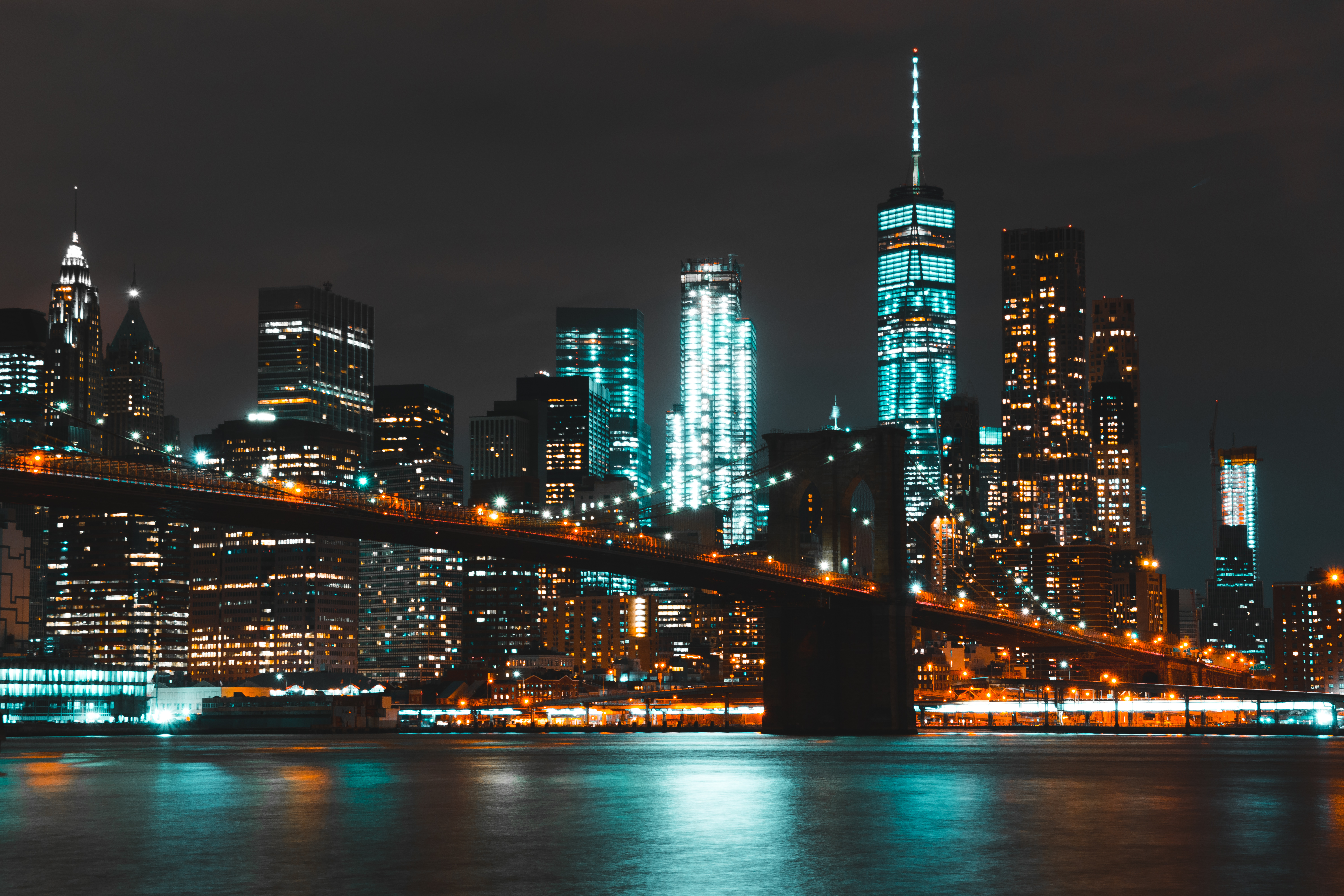 New york city wallpaper pexels free stock photos free stock photo of sea city sky lights voltagebd Image collections