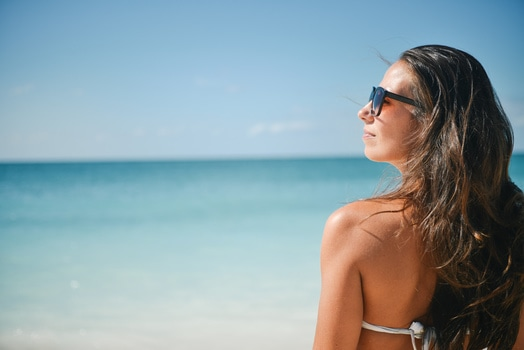 Free stock photo of sea, sunny, person, beach