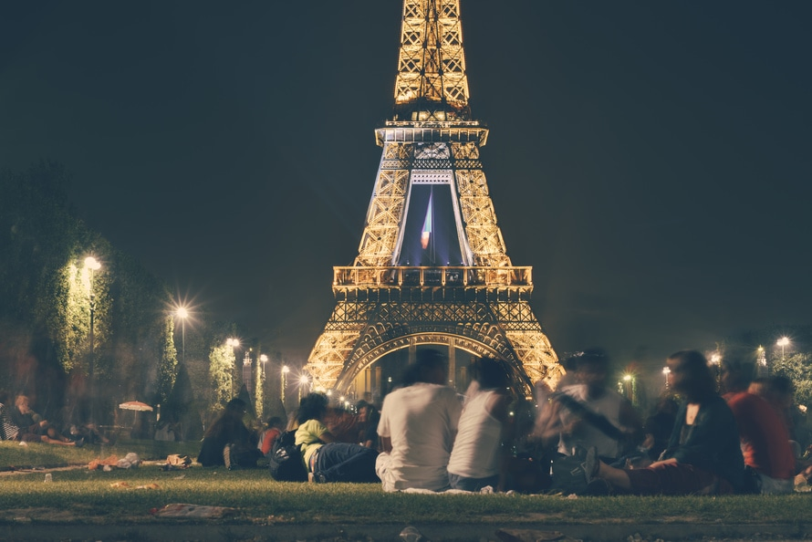eiffel tower, france, landmark