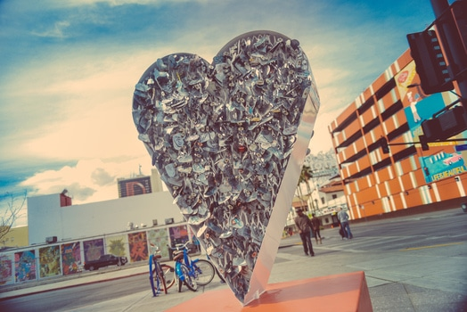 Free stock photo of love, art, heart