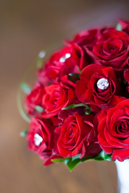 Wedding Bouquet Definition : Red roses bridal bouquet ? free stock photo