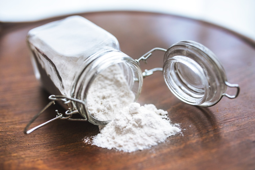 measuring the color of flour