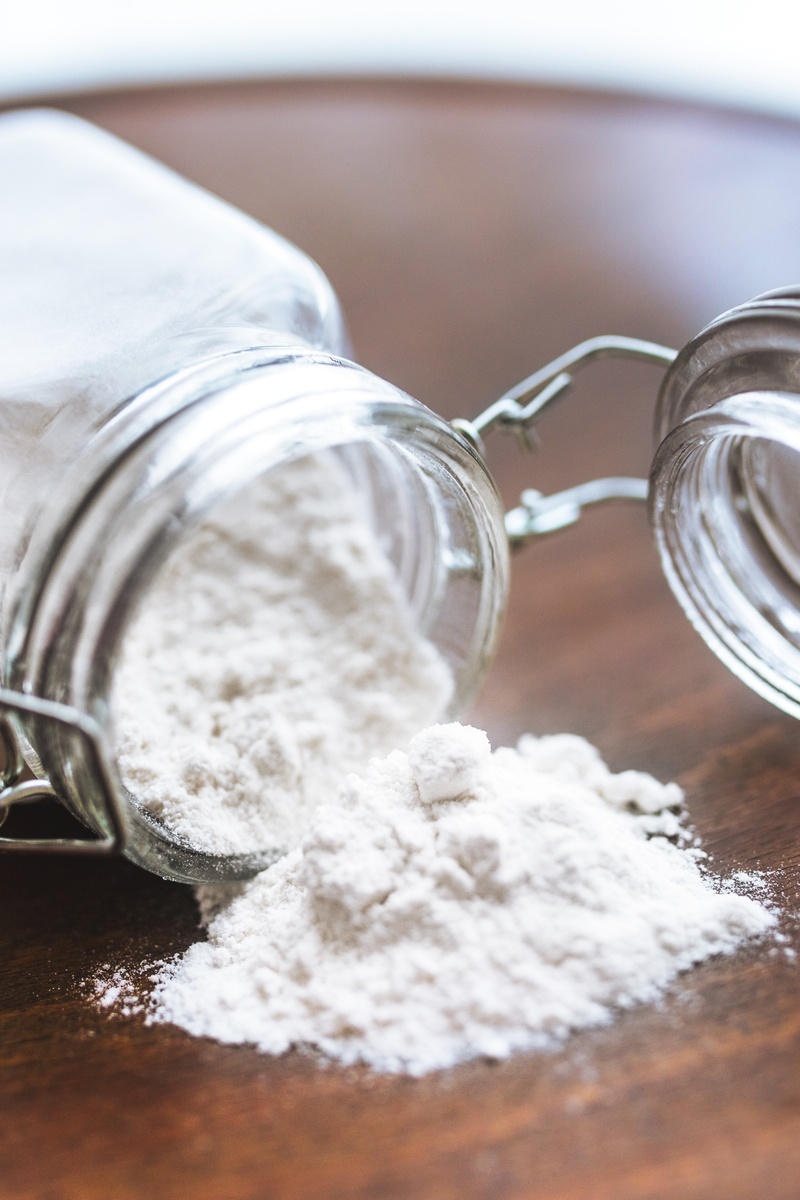 Flour In A Jar Free Stock Photo