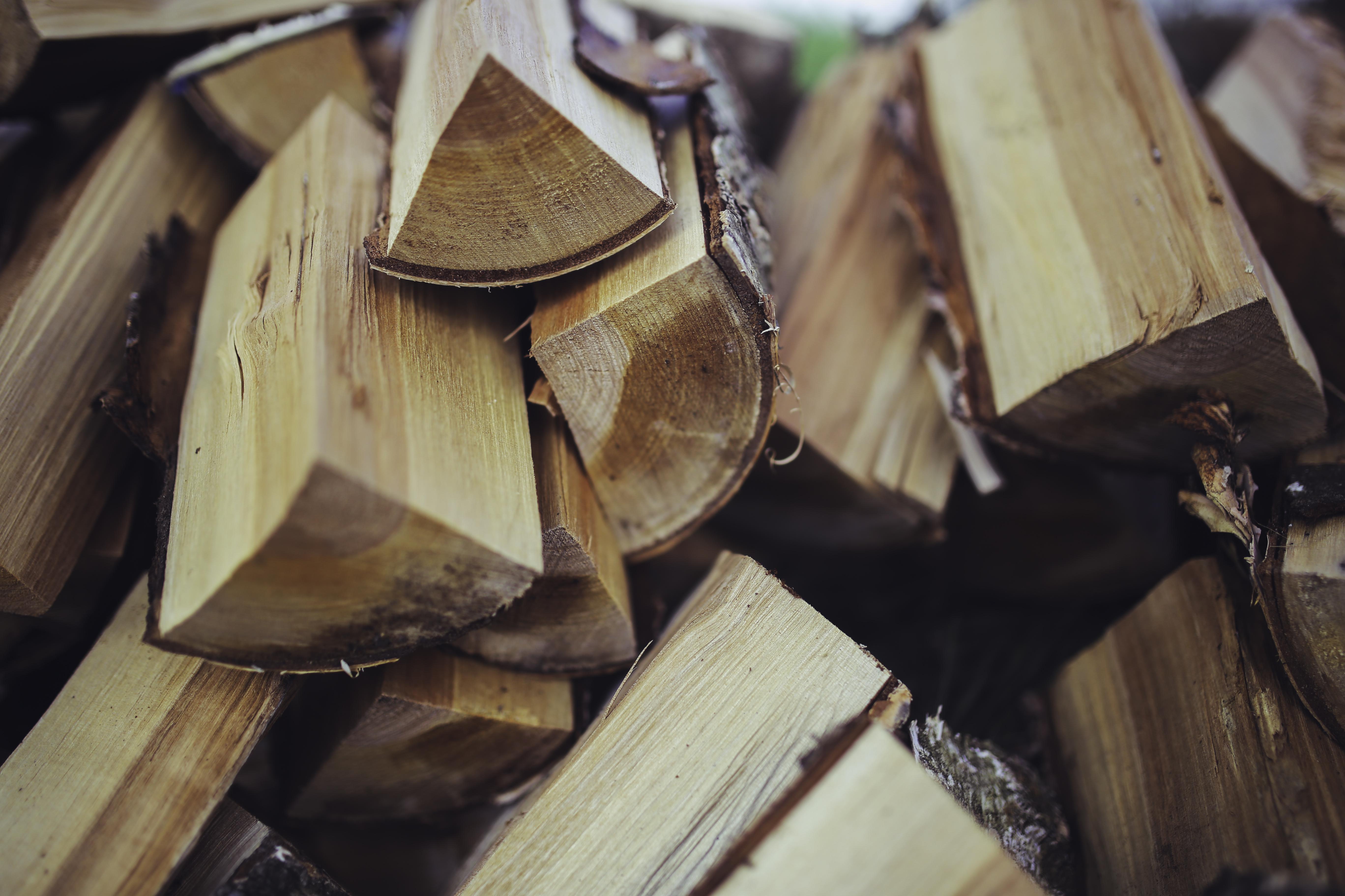 fireplace wood free stock photo