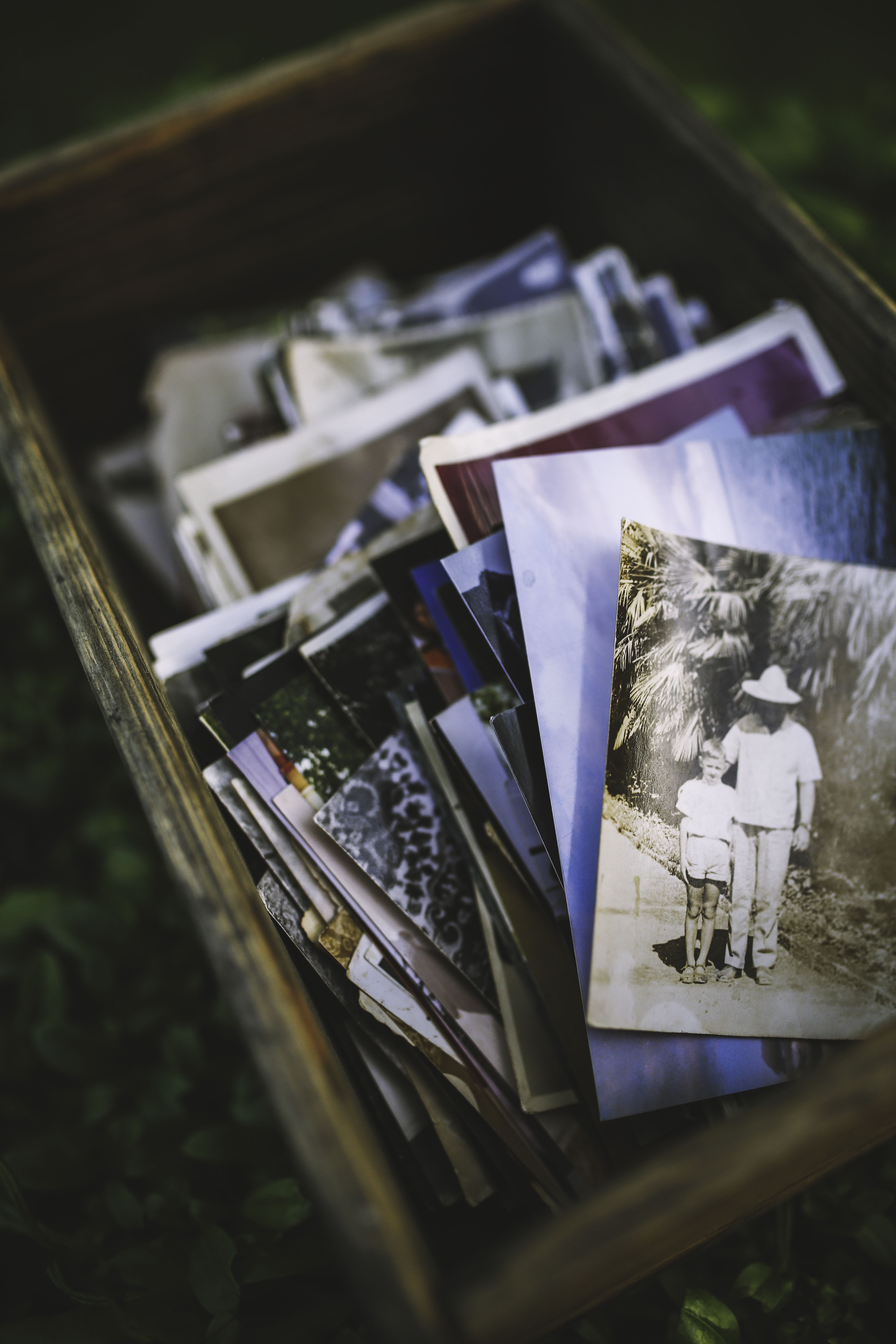 Old Photos In The Box 183 Free Stock Photo
