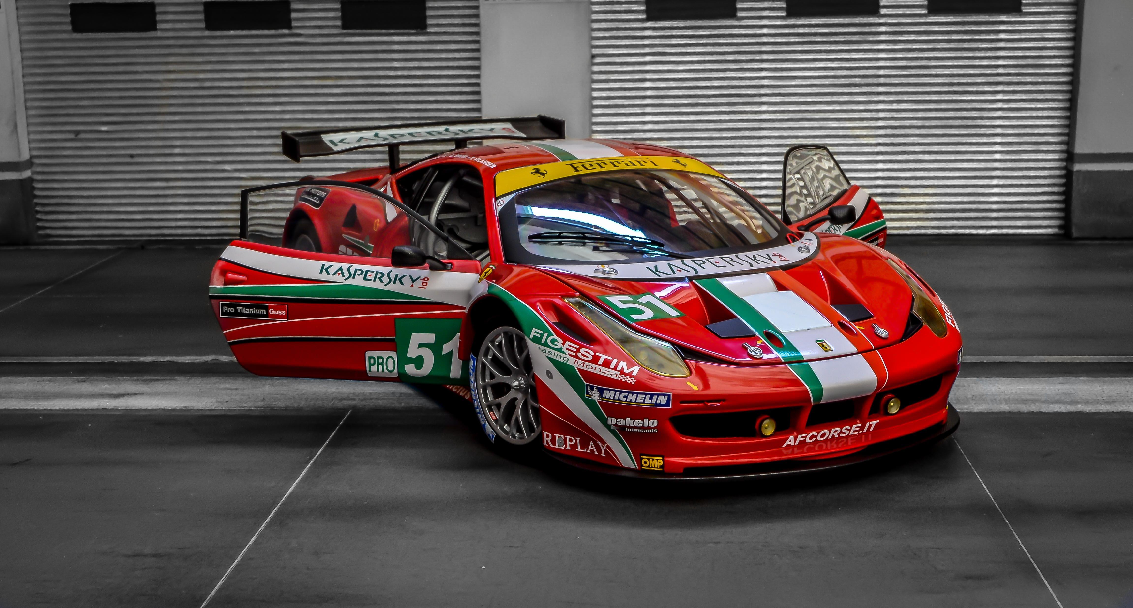 Free Stock Photo Of Ferrari 458 Italia GT2 LM 2011