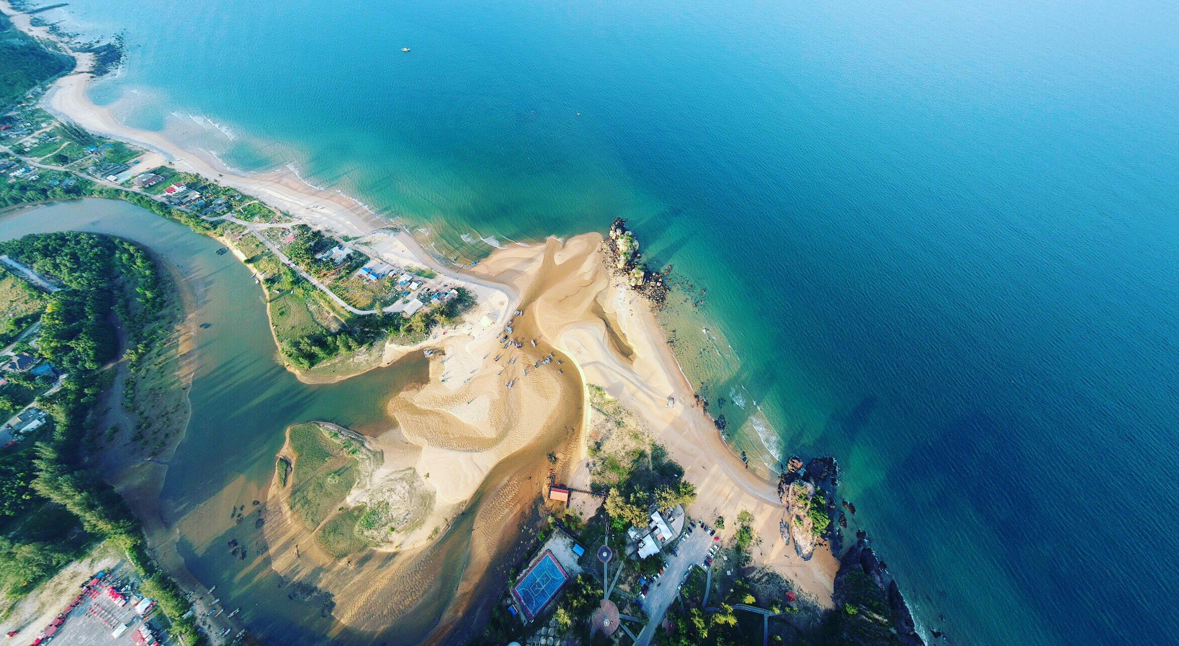 Free stock photo of aerial shot, aerial view, beach