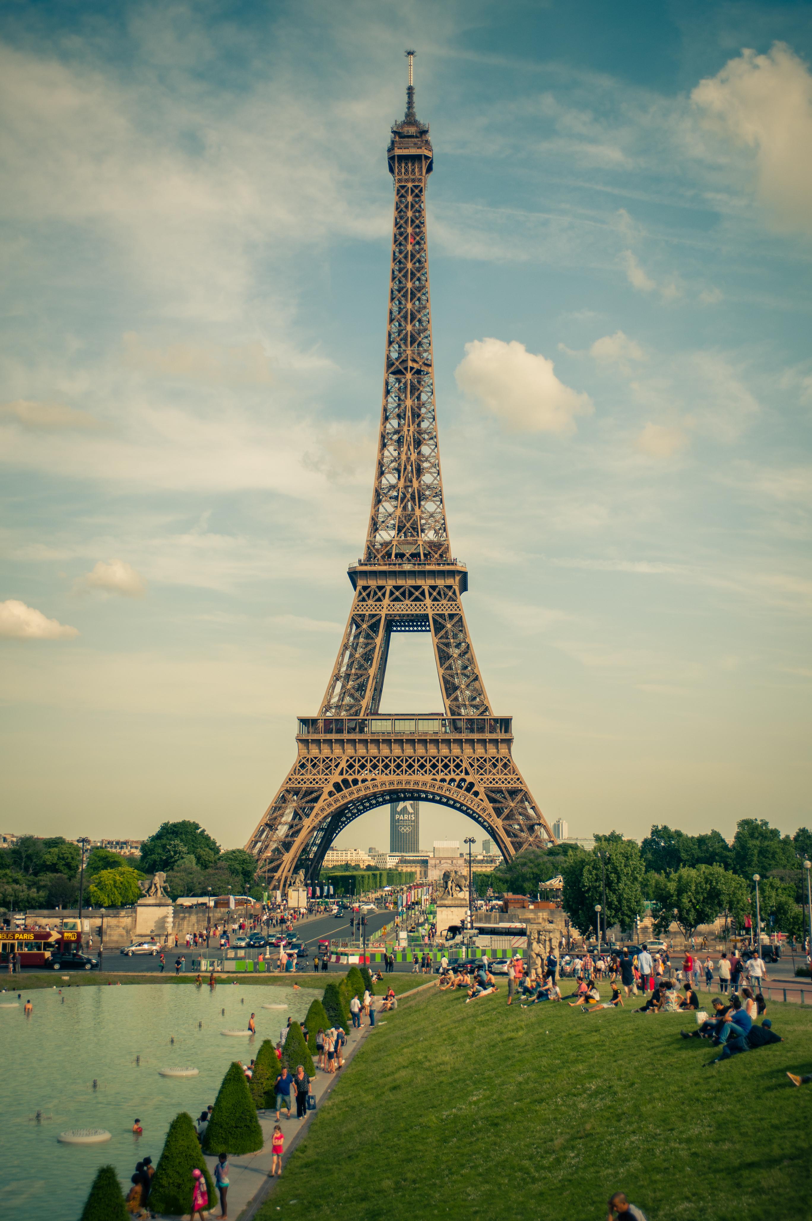Free stock photo of eiffel tower, france, paris