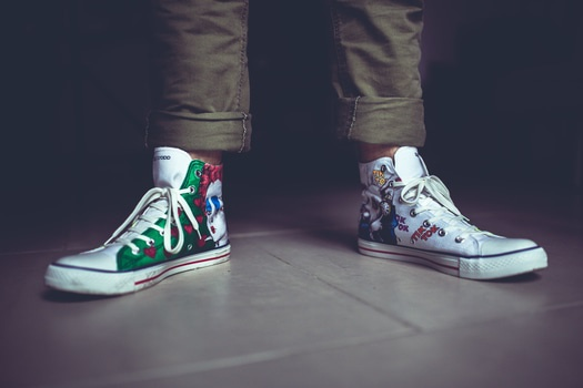 Free stock photo of feet, legs, shoes, sneakers