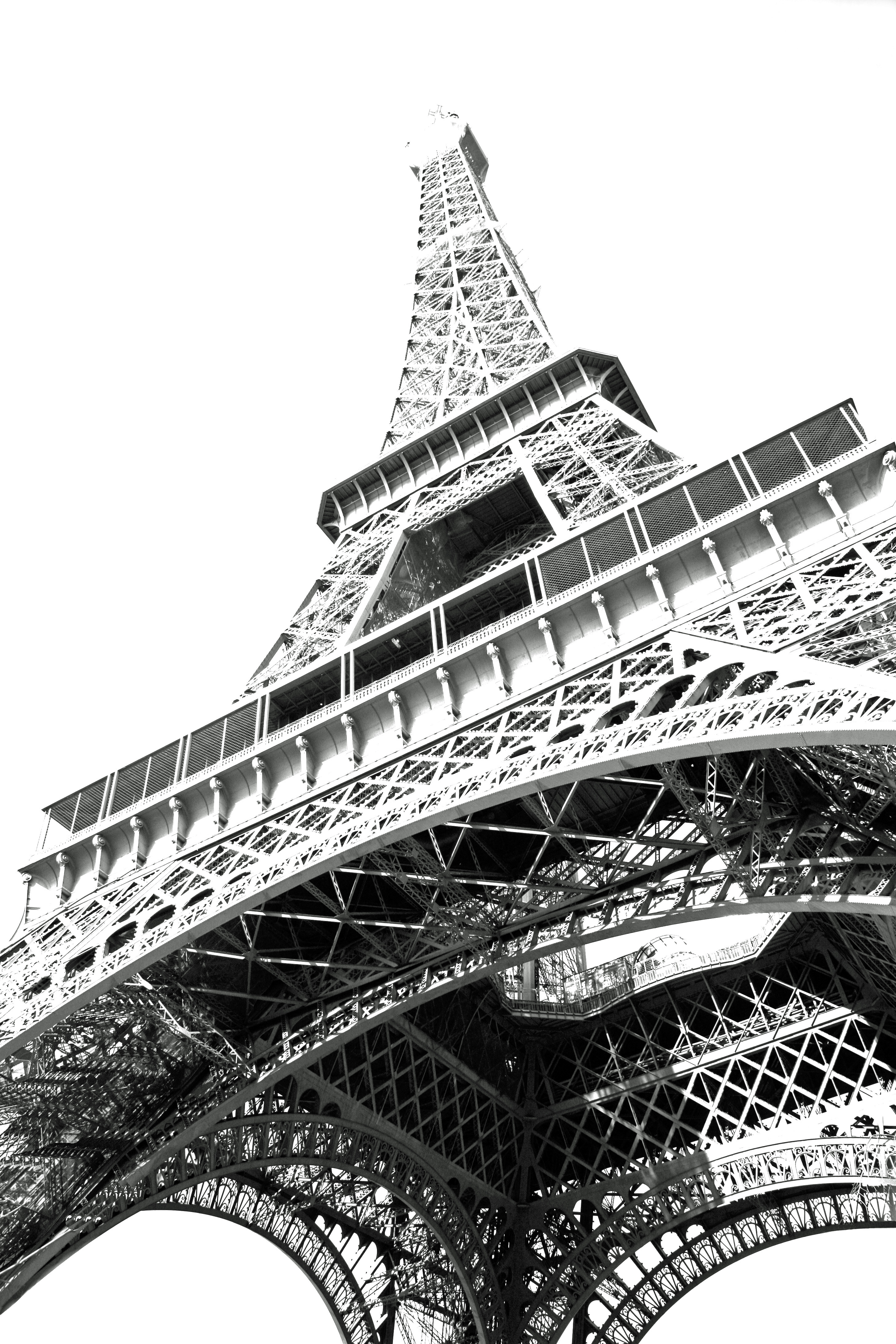 Dessin Illustration Tour Eiffel