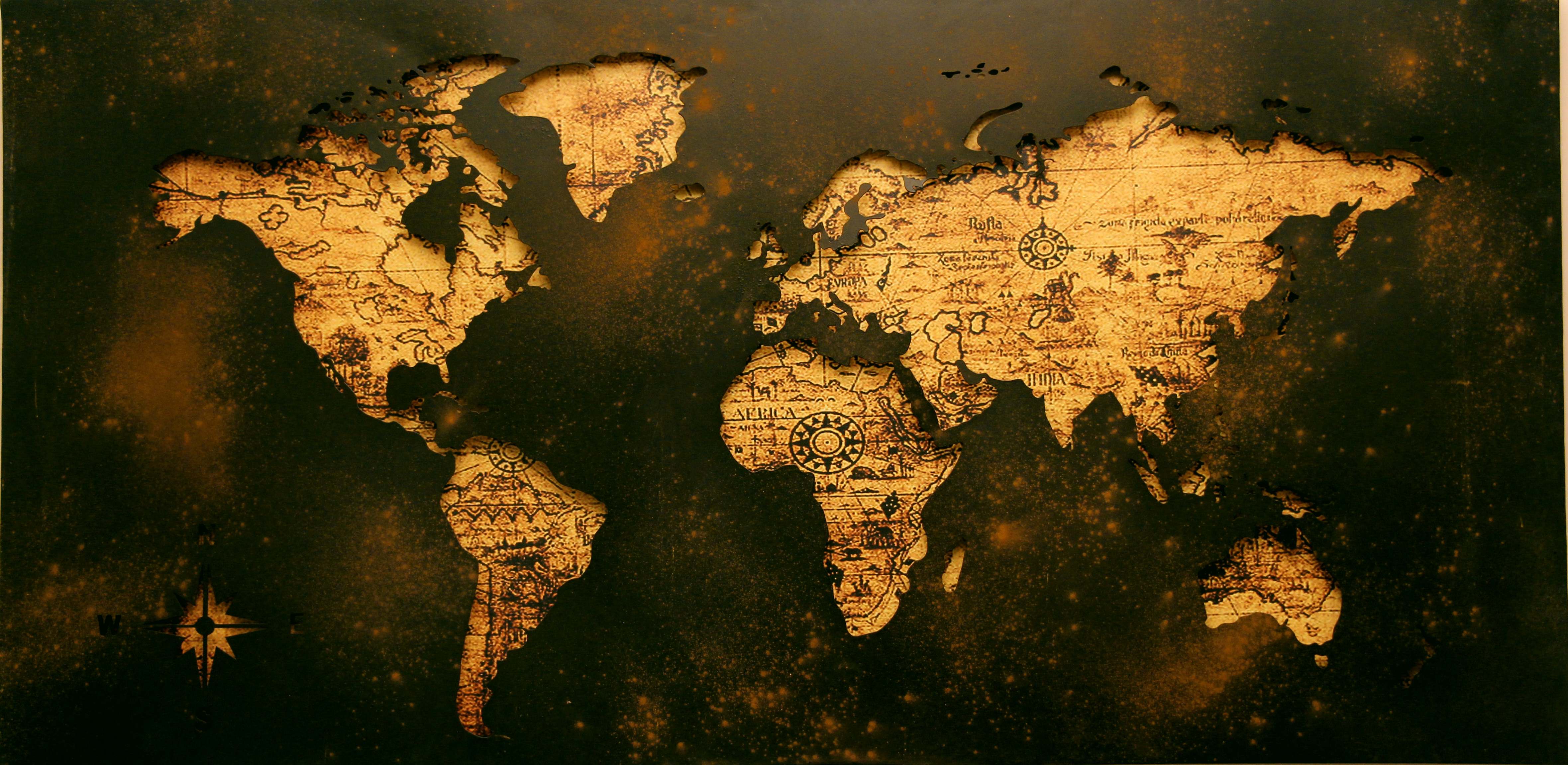 Free stock photos of world map pexels free stock photo of dark dirty map shape gumiabroncs Images