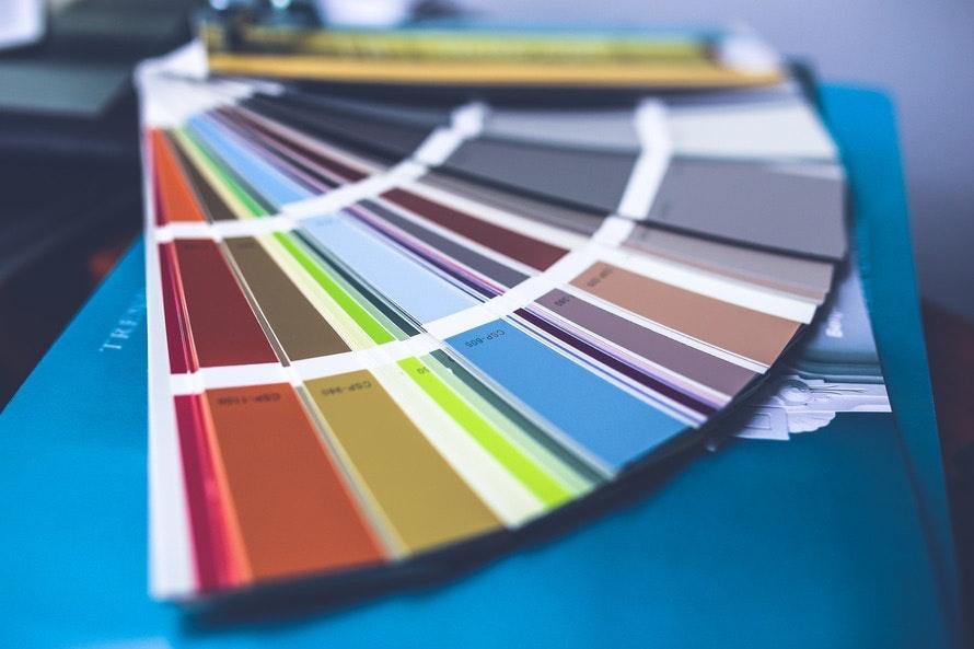 Colors palette