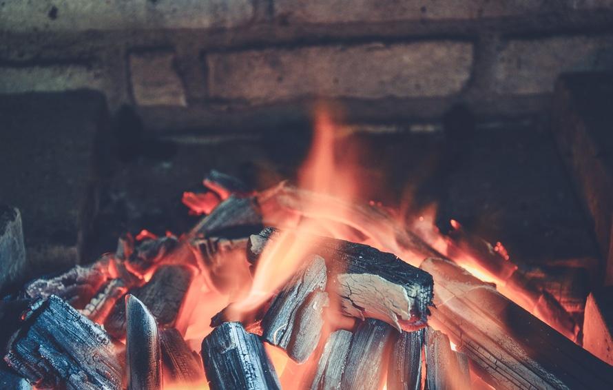 fire, hot, warm