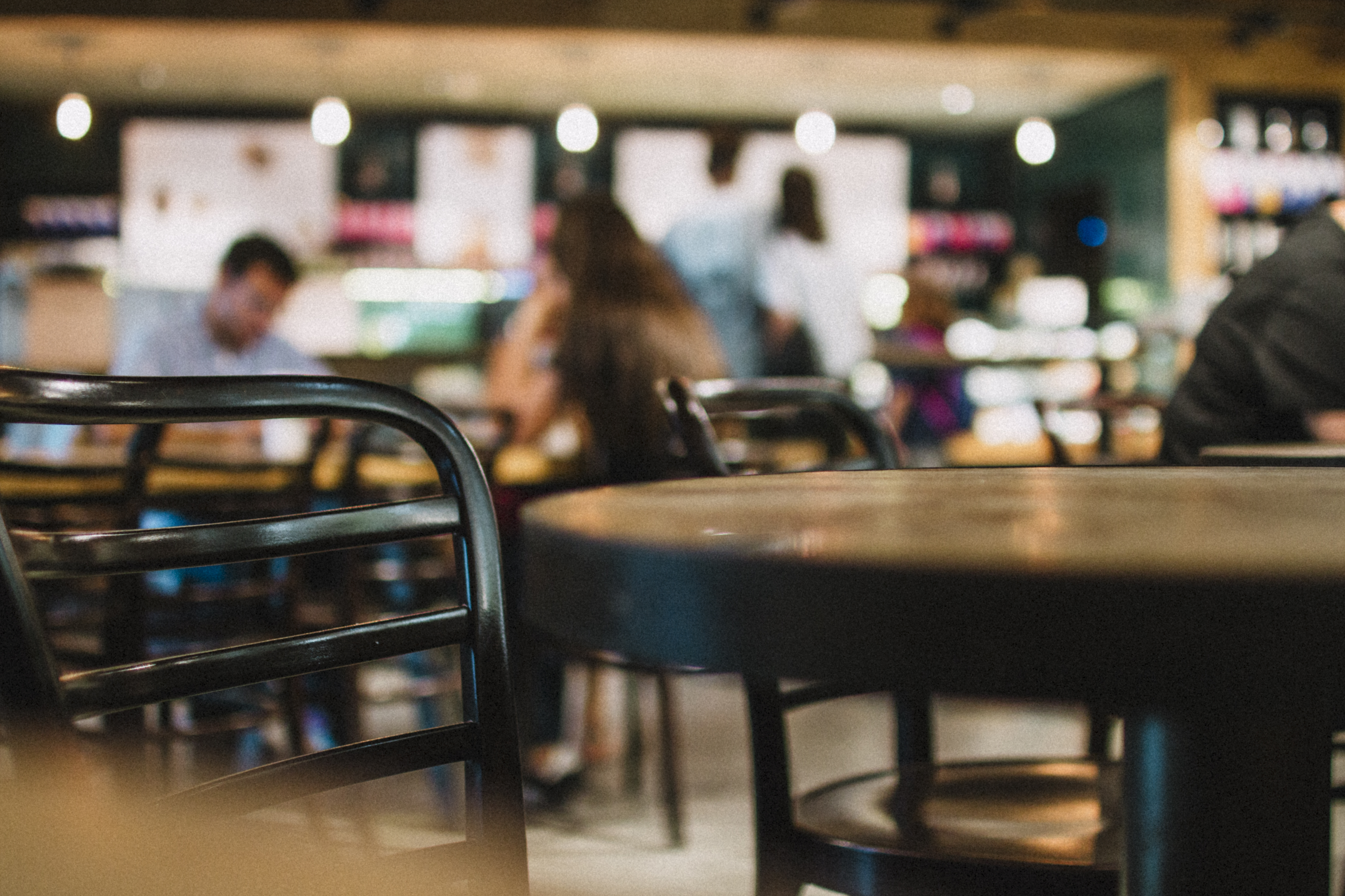 free stock photo of bokeh caf233 chair
