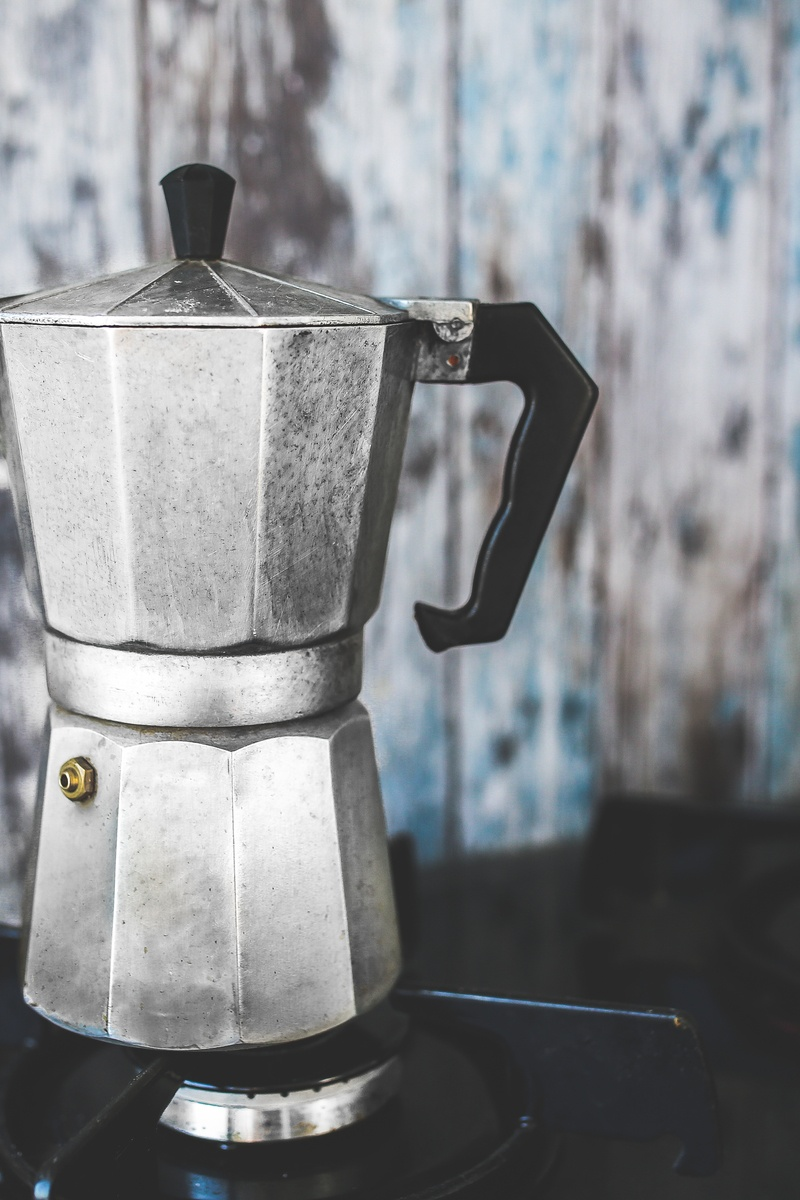 Vintage Moka Espresso Coffee Pot / Maker · Free Stock Photo