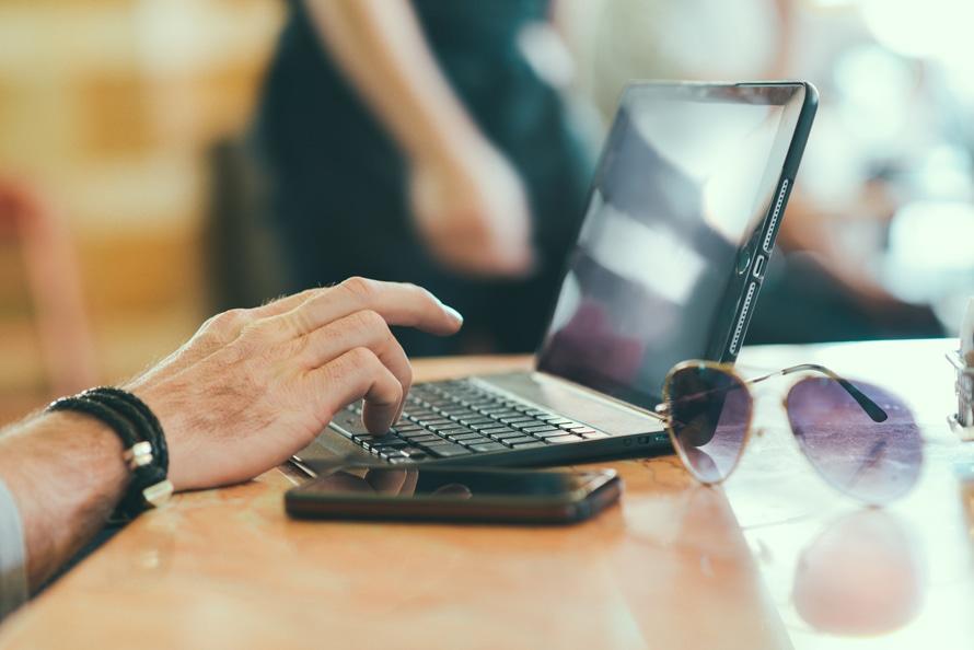 sunglasses, hand, smartphone