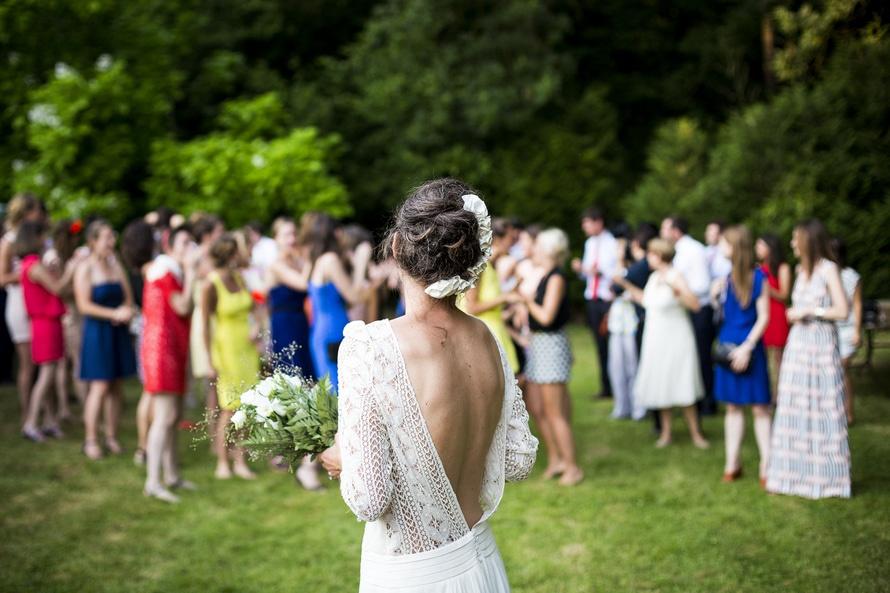 bouquet, bride, celebration