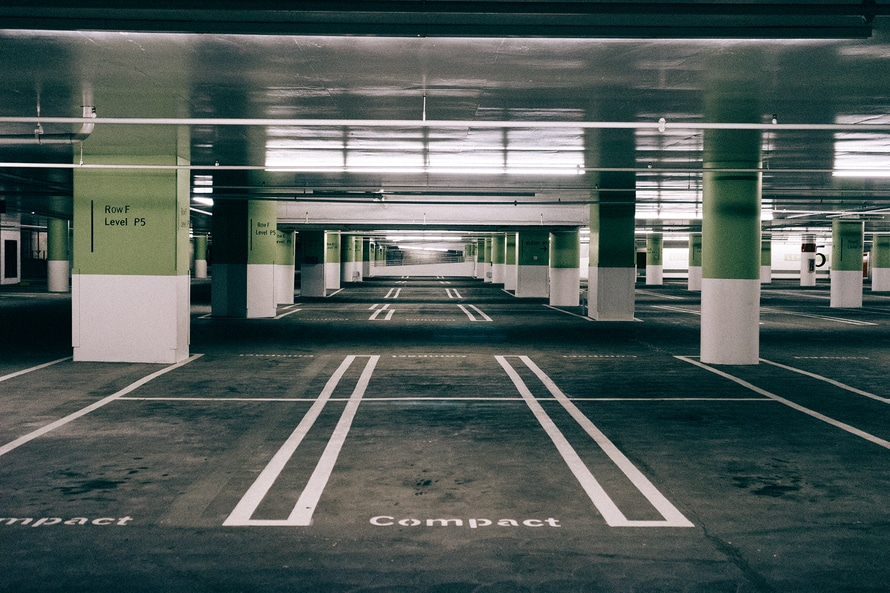 parking garage charge