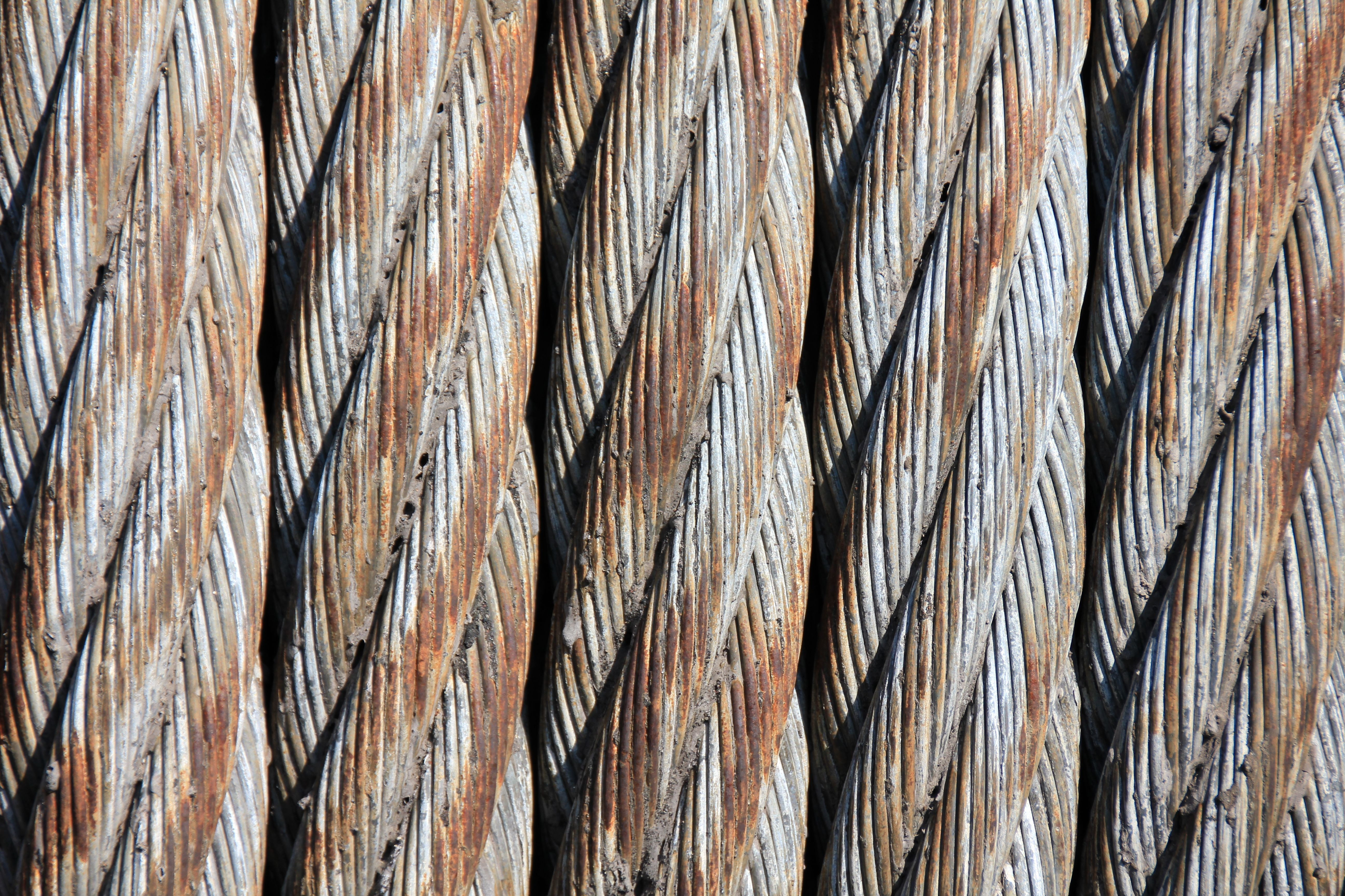 Grey 5 Braided Metal Free Stock Photo