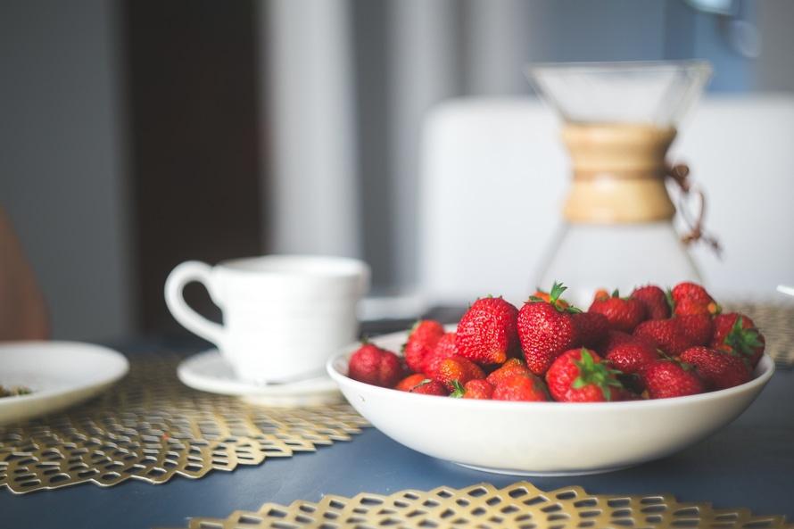 truskawki, zdrowa dieta