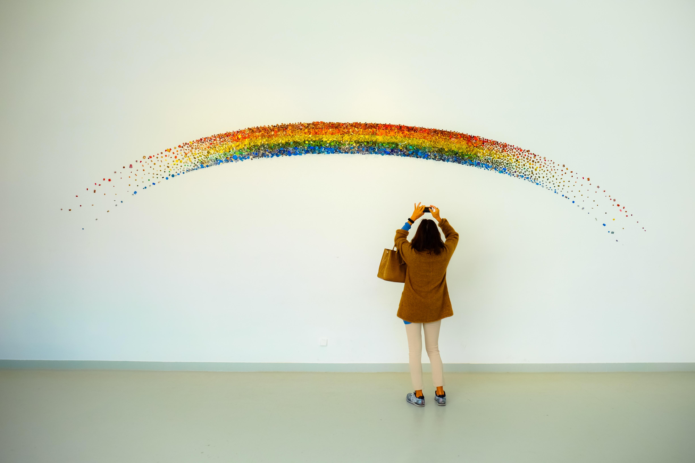 free stock photos of rainbow pexels
