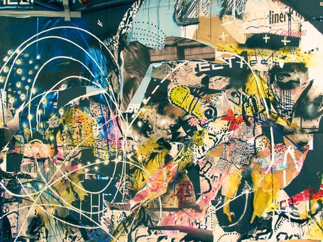 Free stock photo of art, graffiti, abstract, lines