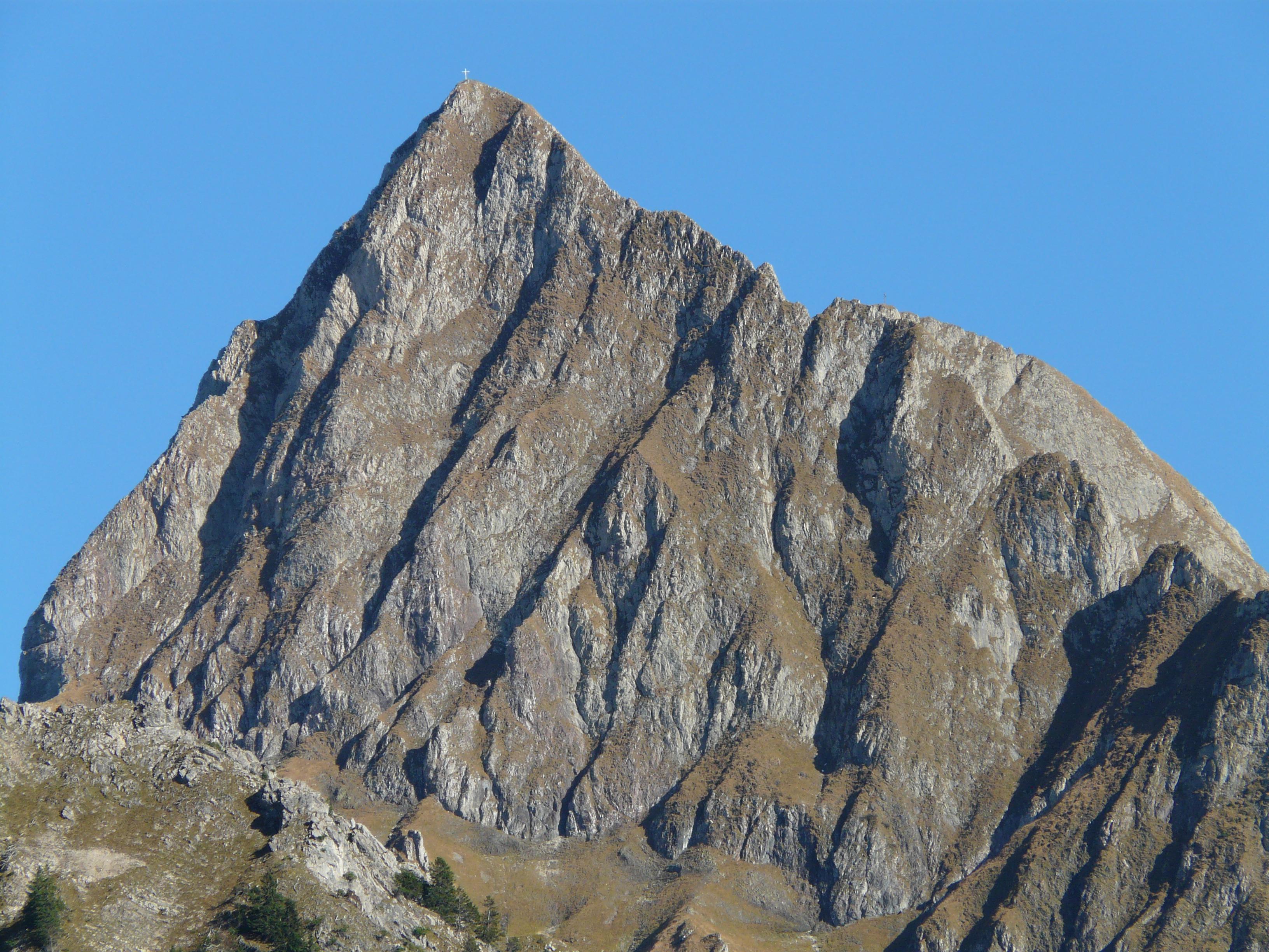 Mountain Peak during Daytime · Free Stock Photo