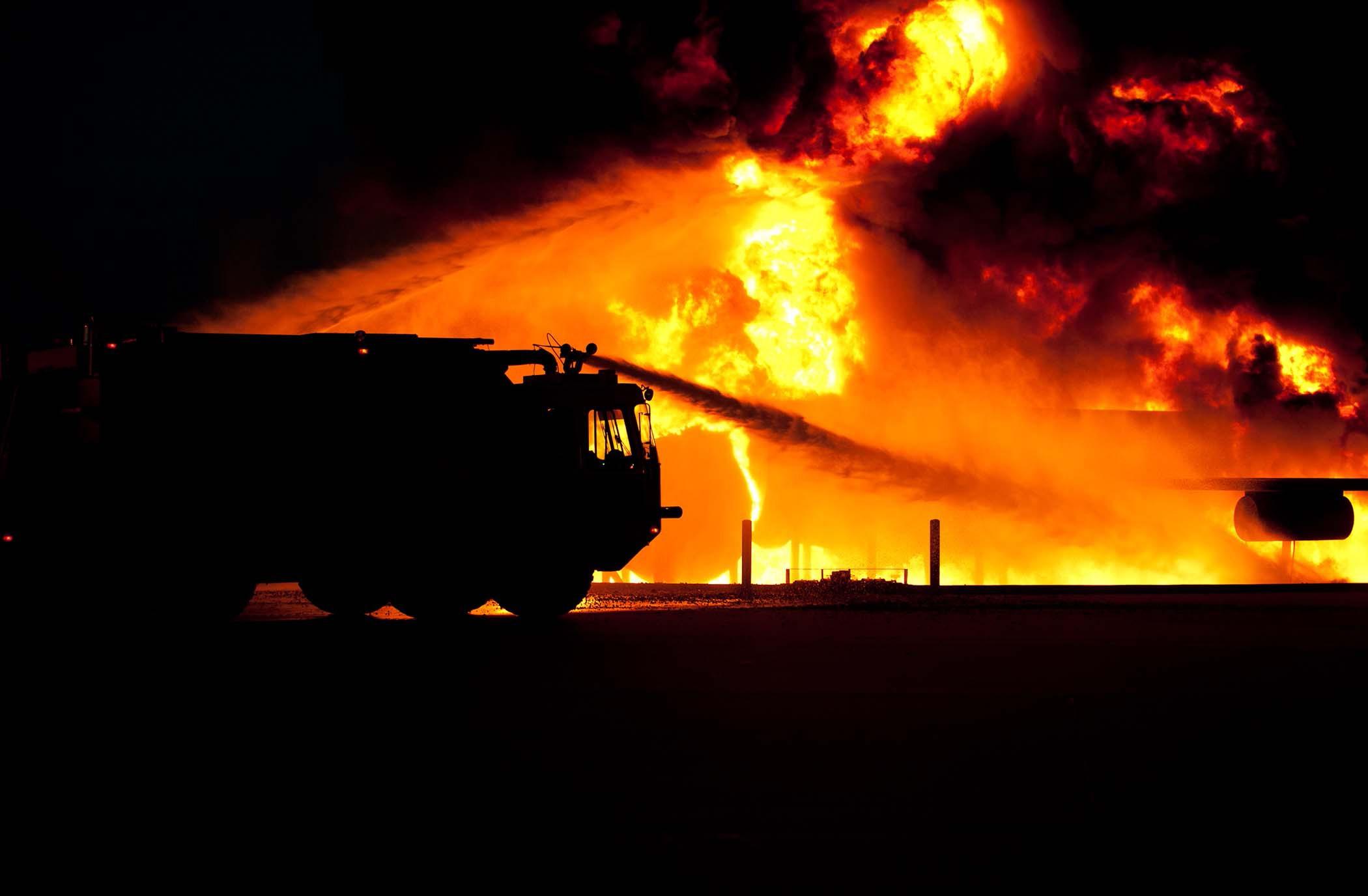 Rozšiřující se požár