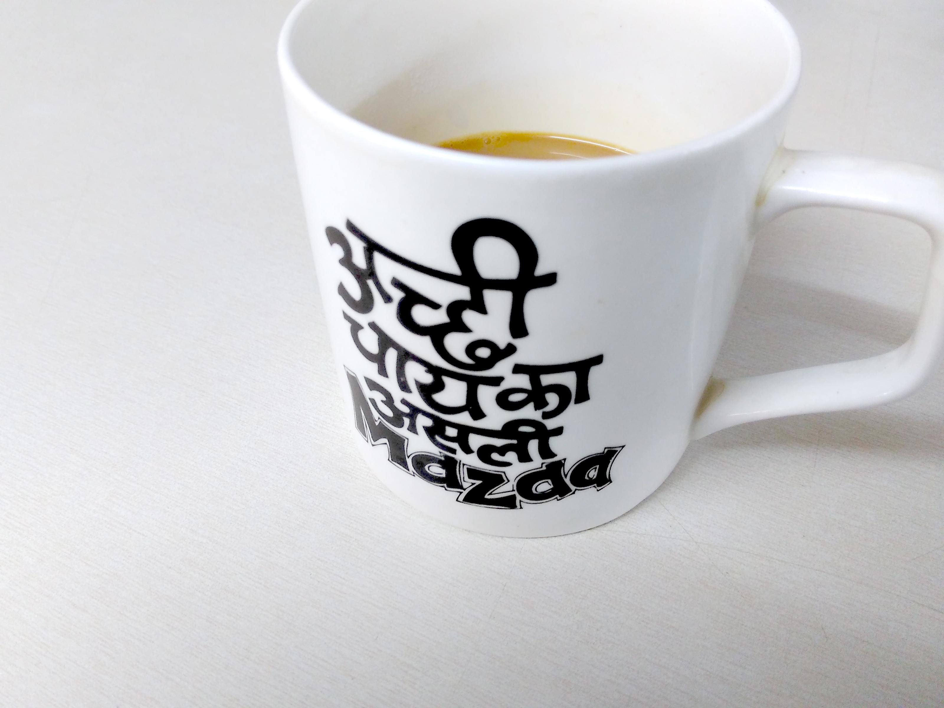 Free stock photo of asli chai, cup art, india