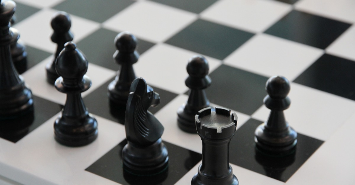 Free stock photo of black and white, board game, chess